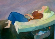 University Student Resting, 2003