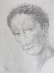 Head sketch, 2013
