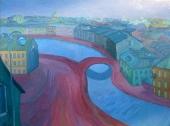 Red Bridge (Canal Griboyedova), 2006