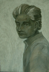 Portrait of Jacques Derrida, 2011