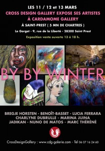 BY BY Winter exhibition poster