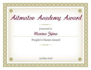 Award Marina-Jijina